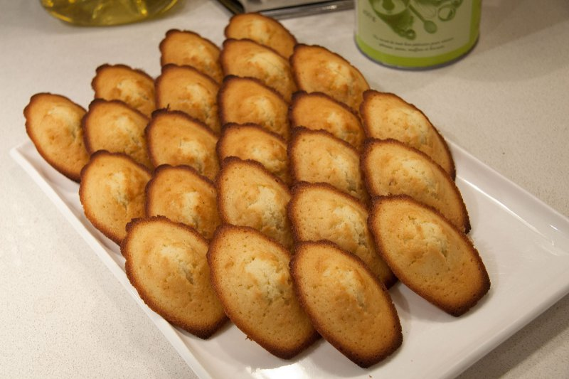 Mes madeleines.